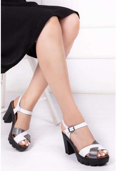 Deripabuc Kadın Deri Sandalet DP26-0303