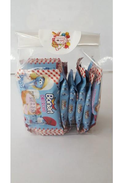 Bonart Çilekli Cheesecake Şeker 10 Lu Paket