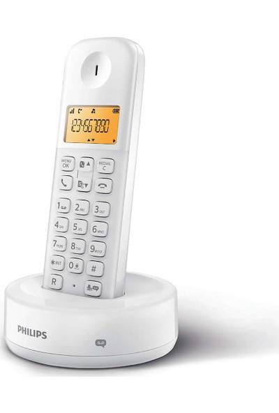 Philips D1651W/01 Kablosuz Dect Telsiz Telefon Beyaz