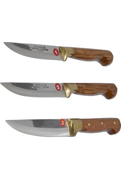 Sürmene Altın Bilezikli Bıçak Seti (Bıçak+Satır+Kesme Tahtası)
