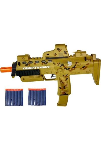 Toyaş Sünger Atan Özel Harekat Tüfeği Işıklı & Titreşimli 12 Mermi MP7A1