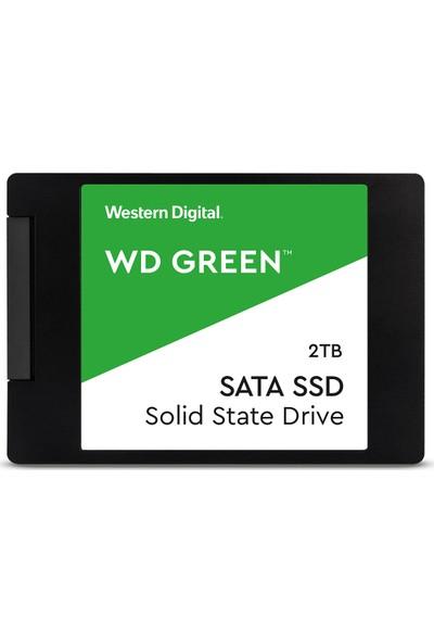 """WD Green 2TB 545MB/s - 465MB/s 2.5"""" Sata 3 SSD WDS200T2G0A"""