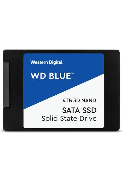 """WD Blue 4TB 560MB/s - 530MB/s 2.5"""" Sata 3 SSD WDS400T2B0A"""