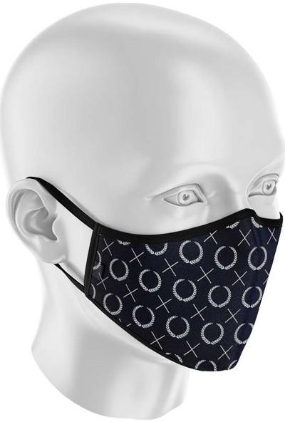 İpeks Unisex Yıkanabilir Kumaş Maske Klasik-2
