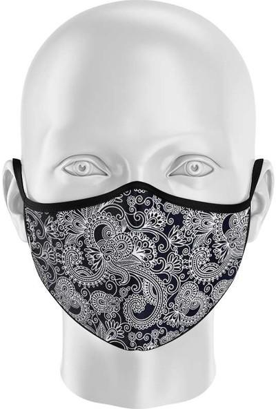 İpeks Unisex Yıkanabilir Kumaş Maske Şal