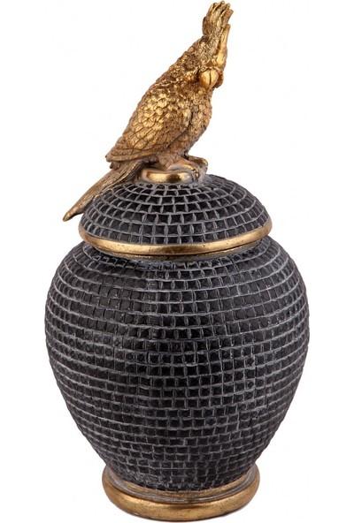Kokosh Home Papagan Kapaklı Küp