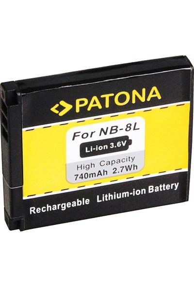 Patona Canon Nb-8l Canon Powershot A2200 A3000 Is A3000IS Batarya
