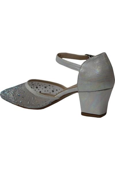 Mehmet Mete 1921 Sedef Pretty Abiye Kadın Ayakkabı