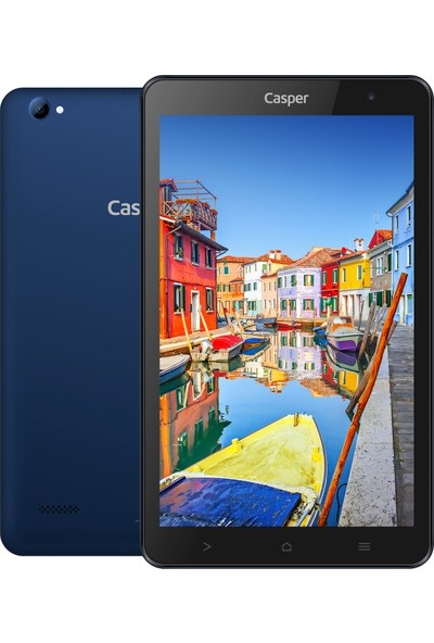 "Casper S38 Plus 3GB 32GB 8"" IPS Tablet Mavi"
