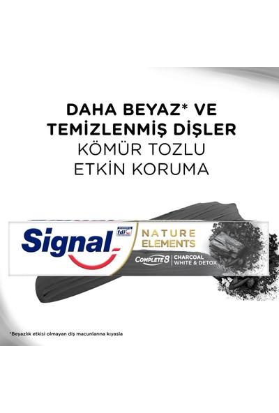 Signal Nature Elements Kömür Özlü Diş Macunu 75 ml