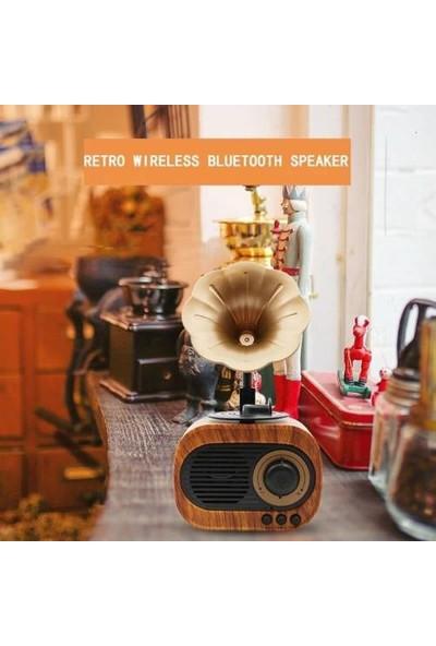 Tg Nostaljik Mini Radyo Bluetooth Hoparlör