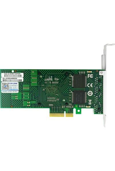 Lr-Link Intel I350-T4 1g Quad Rj-45 Bakır Ethernet Kartı (4 Port)