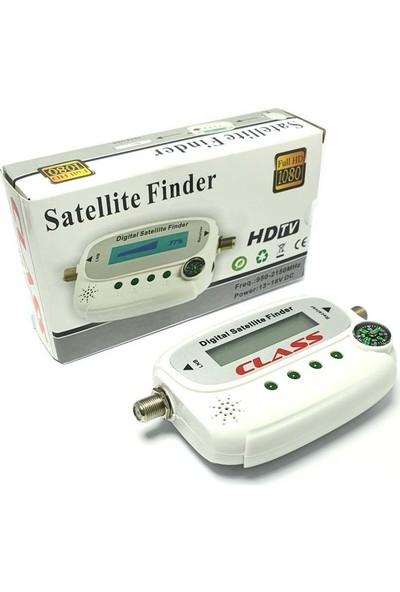 Class ACR120 Satfinder LCD Ekran Pusulalı Dijital Uydu Bulucu