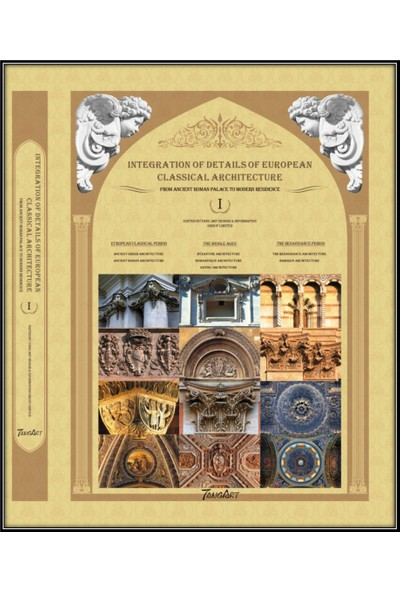 Integration Details Of European Classıcal Archıtecture (3 Set) (Klasik Batı Mimarlığında Detaylar)