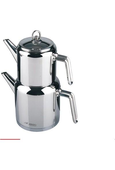 Aryıldız Çaydanlık Takımı Paslanmaz Çelik Prestige Vento