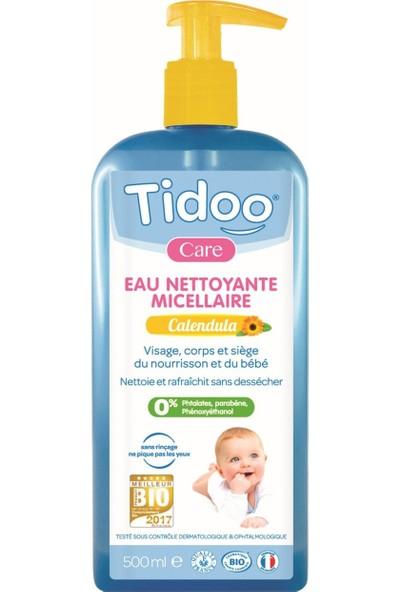 Tidoo Organik Misel Bebek Temizleme Suyu 500 ml Nemlendirici ve Koruyucu - Aynı Sefa Kadife Çiçeği Özlü