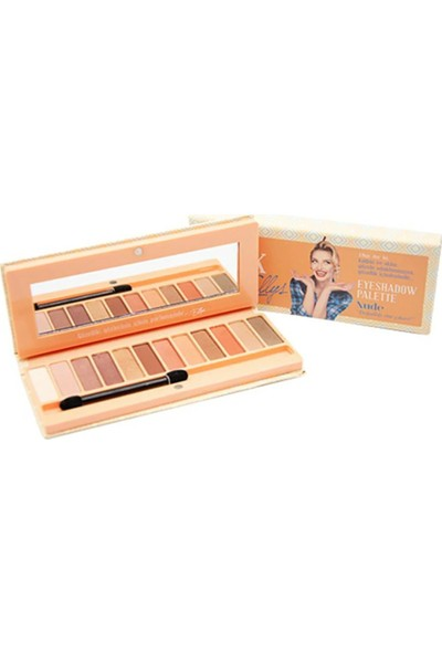 The Pink Ellys Göz Far Paleti - Eyeshadow Palette Nude