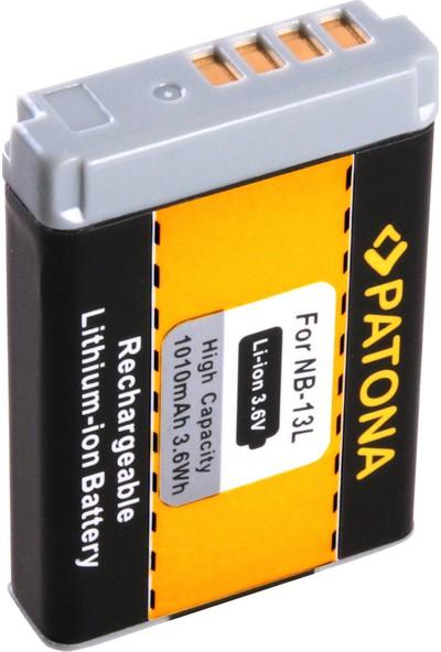 Patona Canon Powershot G7 XX İçin NB-13L Batarya