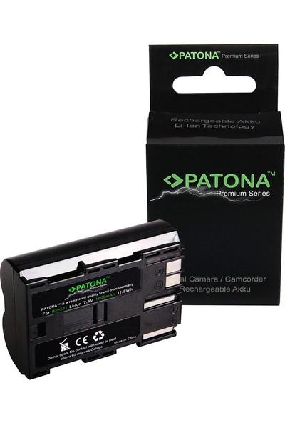 Patona Canon 5D 40D 10D D60 Powershot G1 G2 G6 İçin BP-511 Premium Batarya