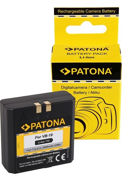 Patona Godox VB18 VB19 Vıng V850 Flash V860 Flash İçin Vb-19 Batarya