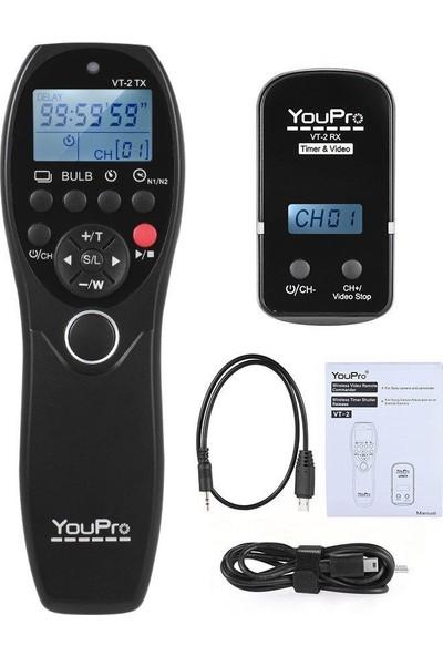Youpro Vt-2 Sony Kablosuz Time Laps Kumanda