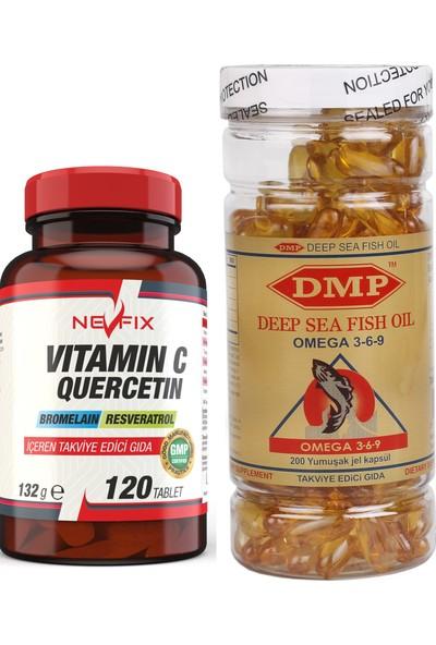 Nevfix Vitamin C 120 Tablet Omega 369 200 Capsü