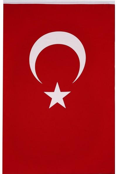 Başkent Bayrak Türk Bayrağı Alpaka Kumaş 70 x 105 cm