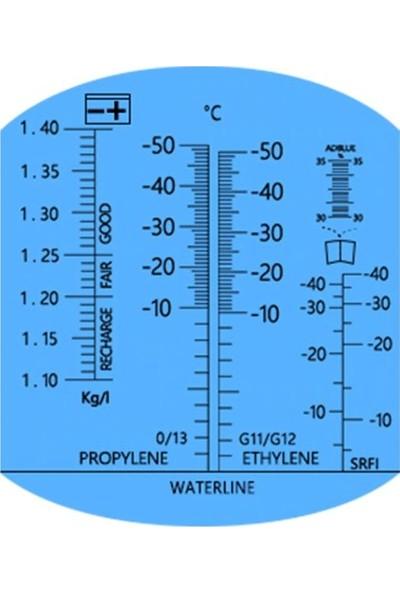 Atc 5İ Bir Arada Akü Antifriz Adblue Cam Suyu Refraktometresi