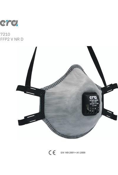 Era 7210Ffp2 Aktif Karbon N95 Ventilli Solunum Koruyucu -5Adet