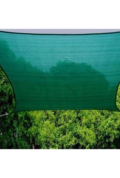 Erkim Çuval Ambalaj Gölgelik File 1X15 Mt %95 Gölgelik Kumaş Gölgeleme Çit Örtüsü Yeşil Kuşgözlü + Kolonlu