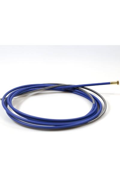 Geka İzoleli Çelik Spiral, 0.6 - 0.8 Mm İçin, 3.50 M (Mavi)
