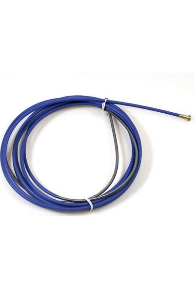 Geka İzoleli Çelik Spiral, 0.6 - 0.8 Mm İçin, 4.50 Mt (Mavi)
