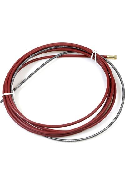 Geka İzoleli Çelik Spiral, 1.0 - 1.2 Mm İçin, 3.50M (Kırmızı)