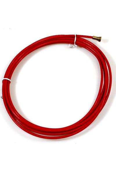 Geka Kırmızı Teflon Spiral 1.0-1.2 3,5Mt