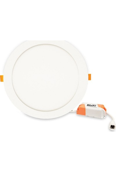 Klite Slim Led Panel 6W 10 Adet (Beyaz Işık)