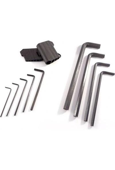 Krglt Çelik Alyan Takımı (9 Parça)