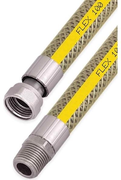Krglt Ocak Fırın Doğalgaz Bağlantı Fleksi Extra Korumalı Hortum 1.50 Metre