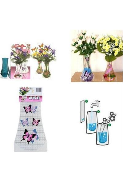 Nargo Katlanabilir Plastik Vazo