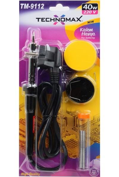 Nargo Lehim Havya Seti 40W / 220V - Technomax Tm9112