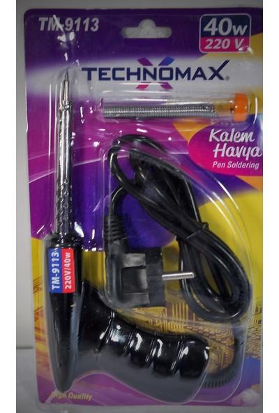 Nargo Tabanca Lehim Havya Seti 40W / 220V - Technomax Tm9113