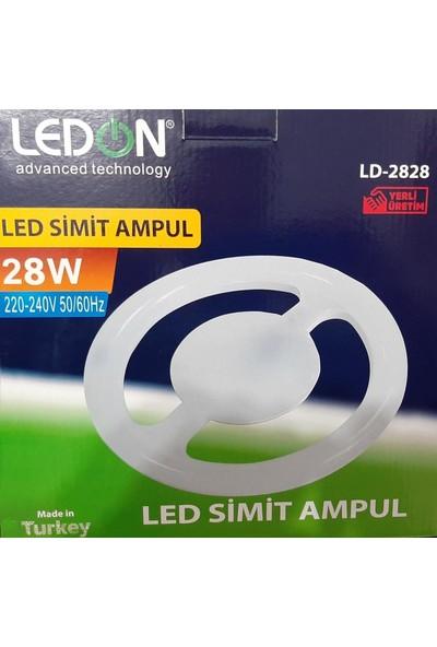 NESİL Ledon Led Simit Lamba 28 Wat E27 Duyu 2200 Lümen