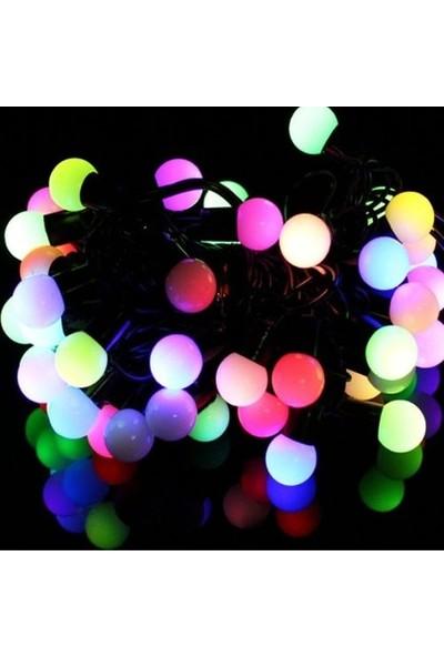 NESİL Minik Top Ledli Dolama Dekor Işıkları (Rgb 5Mt)