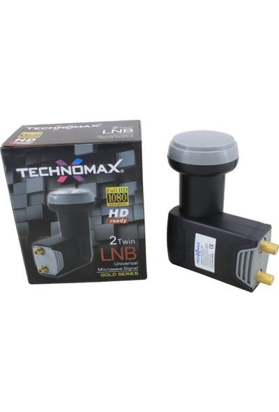 NESİL Technomax Çanak Uydu 2Li Lnb Gold Seri Hd