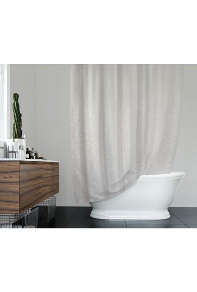 Prado Mermer Desenli Banyo Duş Perdesi 180X200Cm
