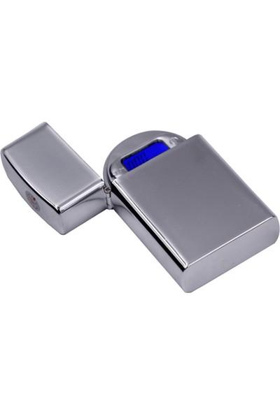 Professional Zippo Çakmak Şeklinde Mini Hassas Cep Terazi 200 Gr Kapasite 0.01 Gr Hassasiyet Küçük Tartı