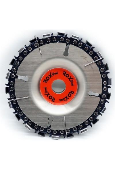 Rox Zincirli Ahşap Oyma Ve İşleme Diski 115 Mm