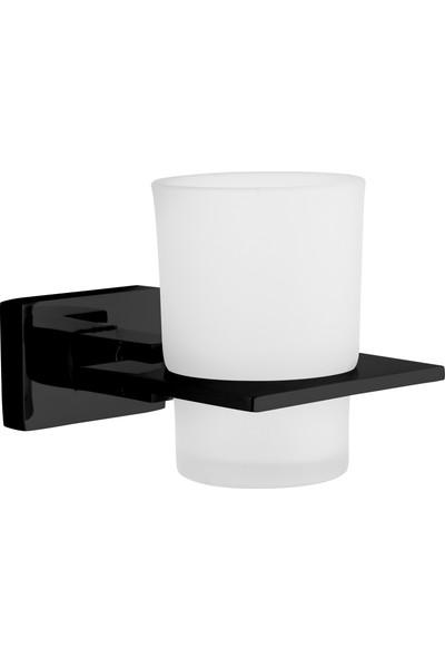 Saray Banyo Nova Siyah Fırçalık