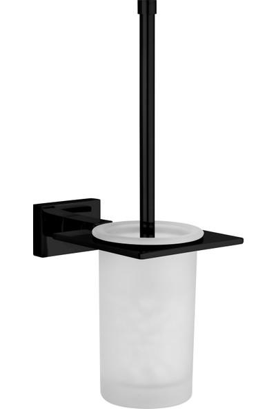 Saray Banyo Nova Siyah Klozet Fırçası