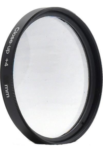 DHD 52 mm Close Up +4 Makro Filtre