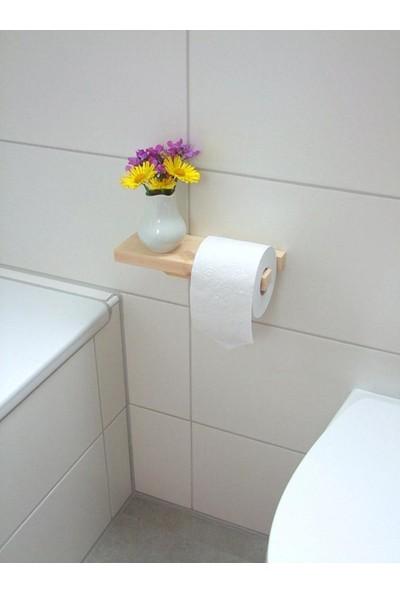Zanaat Tuvalet Kağıdı Tutucusu Dekoratif Raflı Kağıtlık